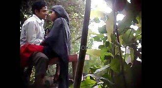 Hidden Cam Shoot at Park muslim teenagers