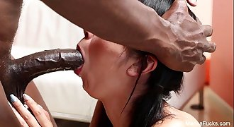 Marica Hase Interracial suck and fuck
