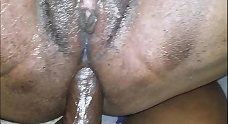 MY STEP DAUGHTER TAKES MY DICK IN HER ASS AND BEGS DADDY TO CUM UP HER BUTT ANAL