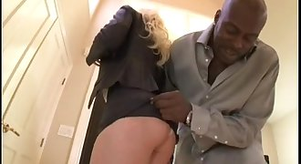 Black Dick for Blonde with Big Tits - pornkitties.com