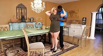 Busty BBW Cougar Cami Cooper Get Some Big Black Cock