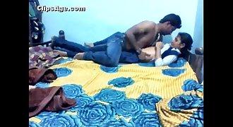 Mallu Virgin Girl with Boyfriend