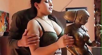 Beautiful Desi girl romance