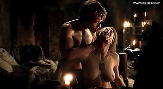 Esmé Bianco - Explicit Doggystyle Sex Scene, Big Knockers  - Game Of Thrones s01e05