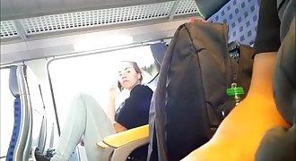 Woman Watches Dickplay Under T-shirt more videos hotwomencam.com