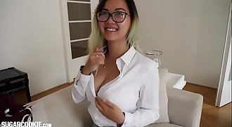 Gorgeous Asian Schoolgirl Teenager Harriet Sugarcookie Solo