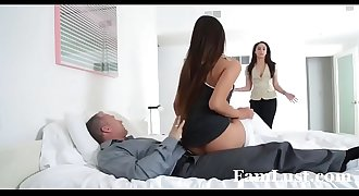 Horny Pretty Stepdaughter Sucks Dick To Skip School - FamLust.com