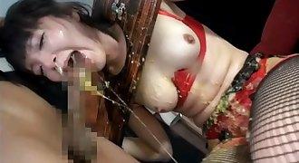 Girls Throat Gagging and Puke Vomit Puking Vomiting Barf
