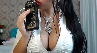 ASMR Erotic Sucking finger sexy angel stripper