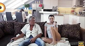 DADDY4K. What would you prefer - computer or your girlfriend? And she?