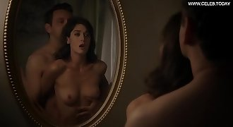 Lizzy Caplan - Sex Scene, Girl on Top, Perky Boobs - Masters of Sex s02e12 (2014)