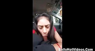 Indian Girl Getting fucked by boyfriend in Car new