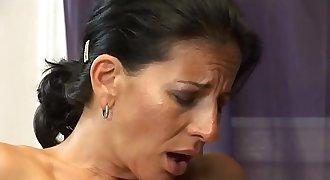 Hot Fuck 135 Sexy Cougar Mummy & Junior Lover Office