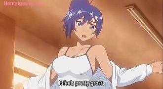Hentai Reverse Femdom Gang-fuck