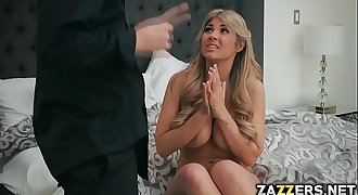 Kayla got banged hard and deep in her wet pussy by her girlfriends husband