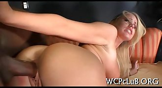 Darksome woman acquires drilled