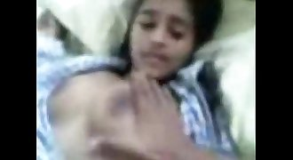 Indian little brother fucked her sister