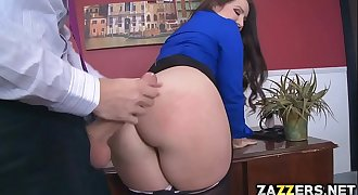 Lola gets her face, ass and cunt fucked