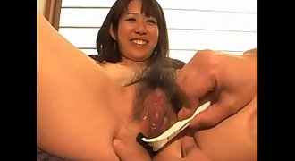 asian from AznBeauties .com gets trimmed