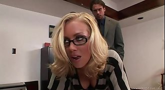 Nicole Aniston banged in the office