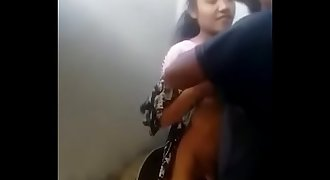 Indian Teen Age Couple Do sex In Bathroom