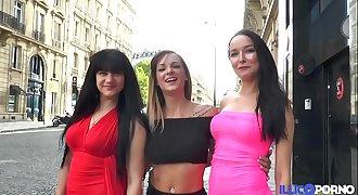 Trois bombes sexuelles se font défoncer [Full Video]