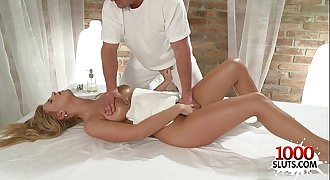Hot girl lovemaking with massage