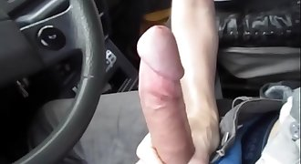 Hot blowjob in the car